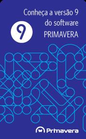 Banner Conheça a versão 9 do software PRIMAVERA